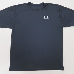 Under Armour T-Shirt Mens Large Blue Made in USA